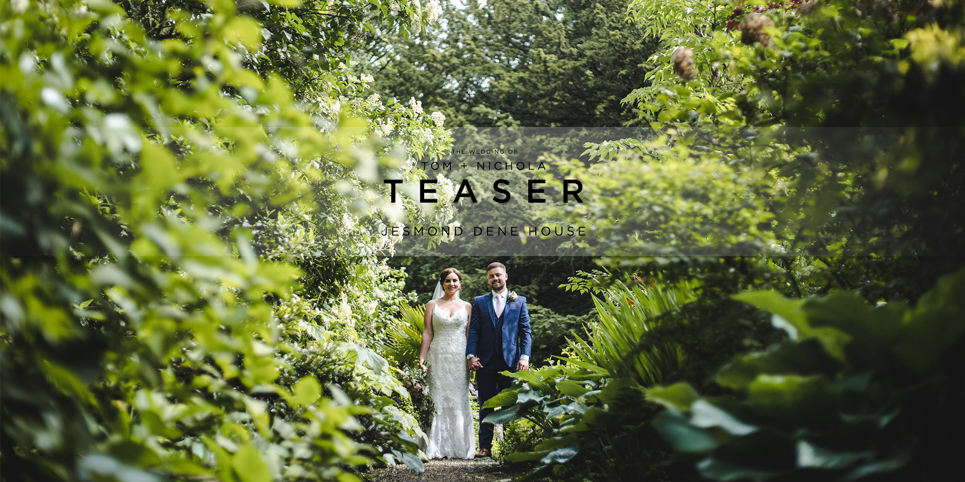Tom Nichola Jesmond Dene House Wedding Videography