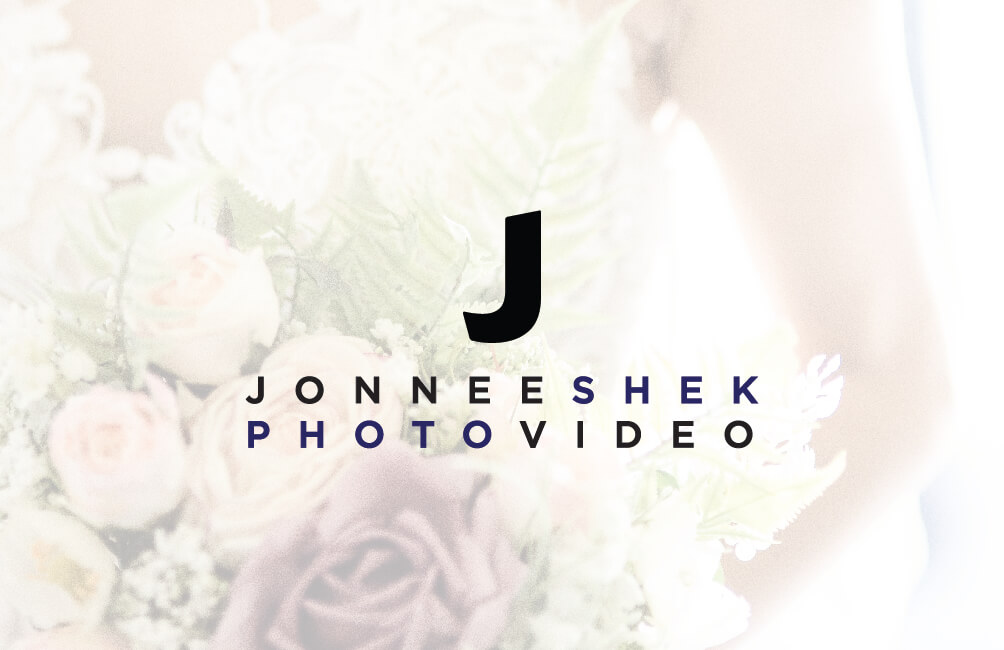 Jonnee shek Logo flower wedding photography videography northeast newcastle upon tyne